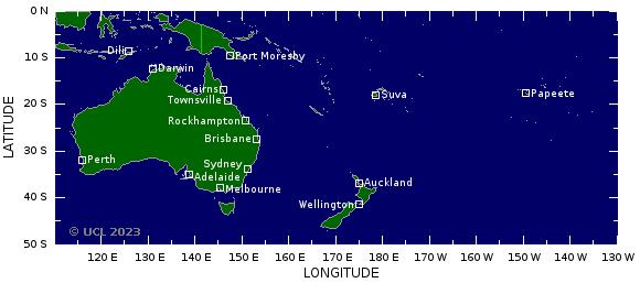 Cyclones ocean indien